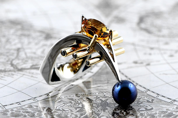 A ring made by Arman Nur