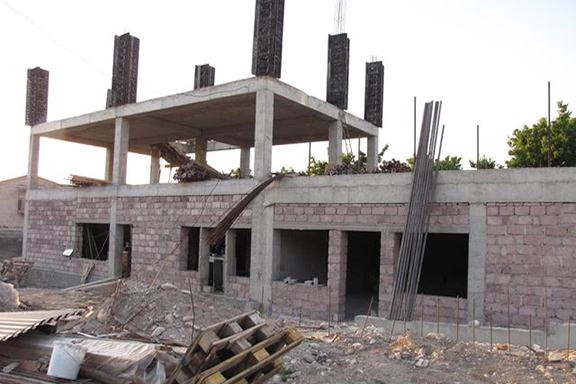 The second building, which is under construction, is located alongside Bari Doon