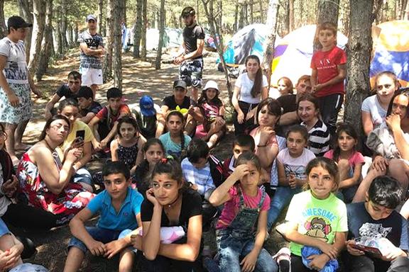 Children at Bari Amar Camp