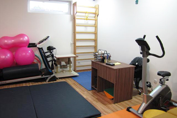 Bari Doon's physical therapy room