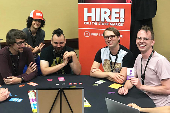 HIRE! was playtested at GenCon 2019