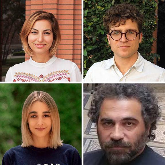 Top row: Dr. Shushan Karapetian, Jesse Siragan Arlen. Bottom row: Elizabeth Mkhitarian, Dr. Hagop Gulludjian
