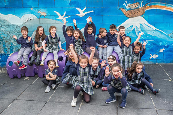 C & E Merdinian Armenian Evangelical School students