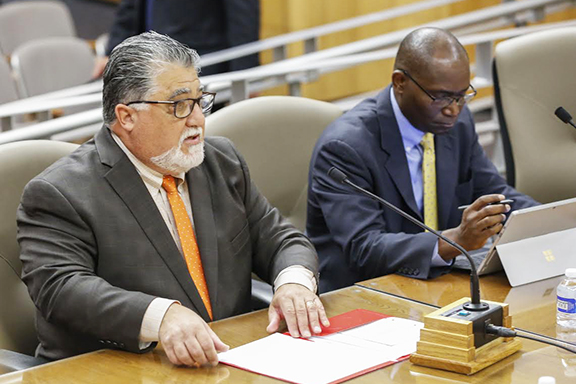Senator Portantino (left) authored Senate Bill 568