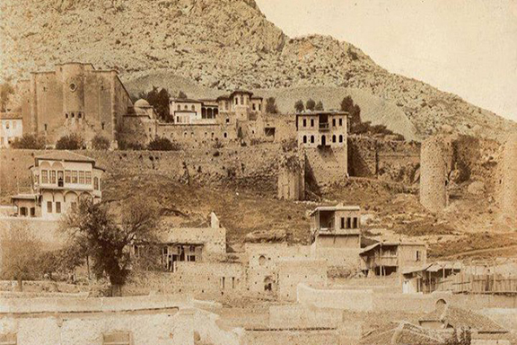 The former headquarters of the Catholicosate of the Great House of Cilicia of the Armenian Apostolic Church in Sis