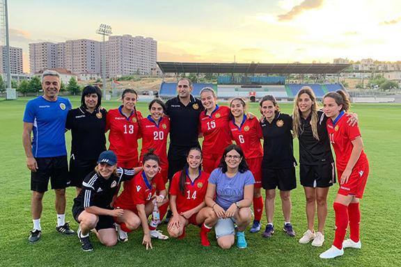 Armenia's Women's U-19 National Soccer Team