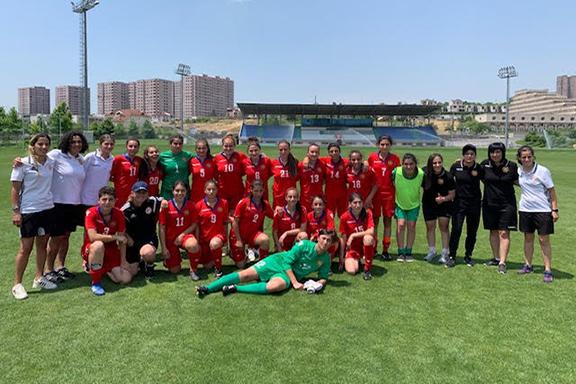 Armenia's U-19 National Soccer Team