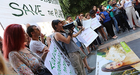 Protests against the Amulsar mining project have been growing