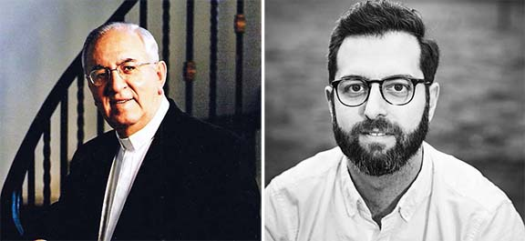L to r: Rev. Vahan H. Tootikian, D.Min., Rev. Jeremy Tovmassian