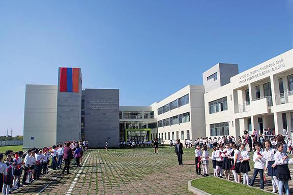 Avedisian School's new building