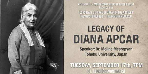 """Legacy of Diana Apcar"""