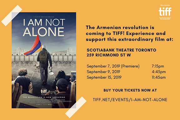 'I Am Not Alone' will be screened at TIFF