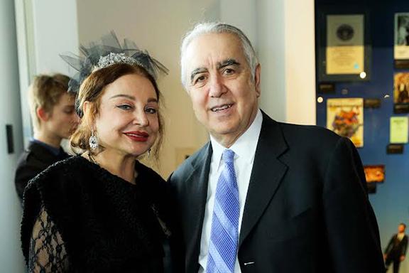 Sona Van (left) with Columnist Harut Sassounian