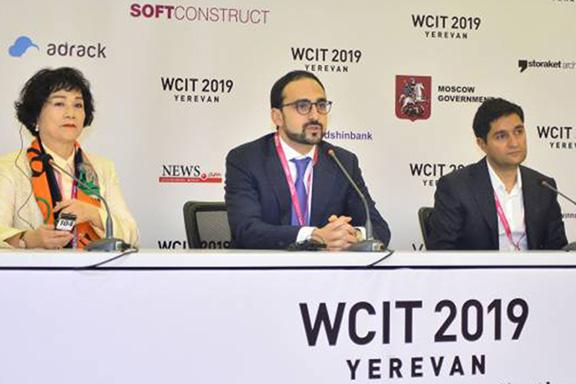 Deputy Prime Minister TIgran Avinyan participated in the WCIT