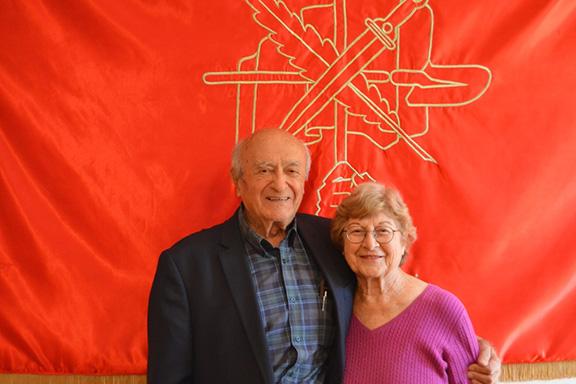 Benefactors Vartan and Sona Fundukian