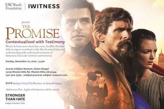 """""""The Promise: Contextualized with Testimony."""""""
