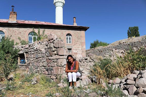 Ani Hovannisian in Dzitogh, a village in Western Armenia