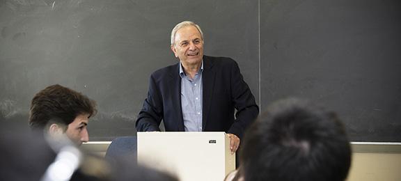 Vahram Shemmassian, head of CSUN's Armenia Studies Program, which received an $2.1 million anonymous gift. Photo by Lee Choo