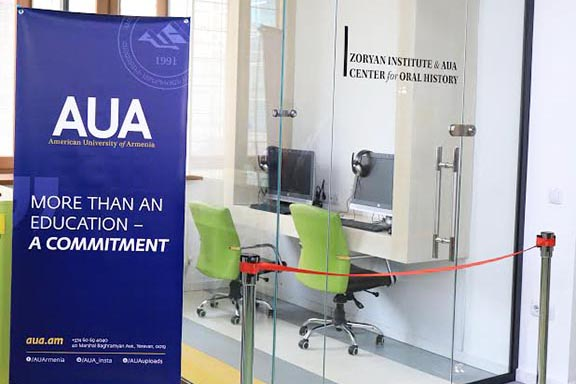 AUA students will be transcribing and translating video interviews with Genocide survivors at the Zoryan Institute and AUA Center for Oral History