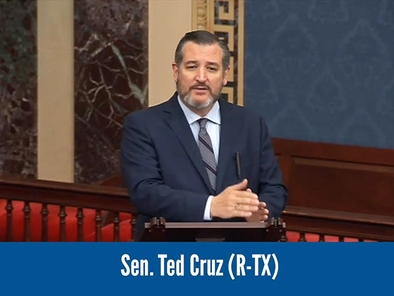 Sen. Ted Cruz (R-TX) joining the call for a unanimous consent vote on the Armenian Genocide Resolution (S.Res.150)