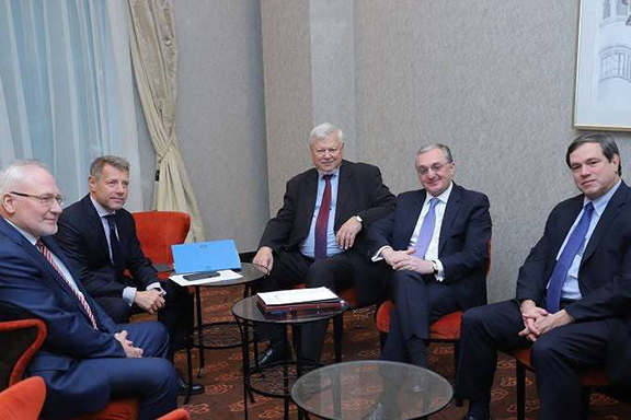 OSCE Minsk Group Co-chairs met with Armenia's Foreign Minister Zohrab Mnatsakanyan