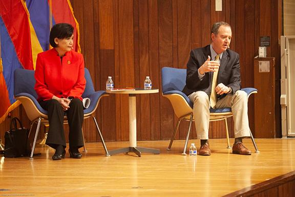 Reps. Judy Chu and Adam Schiff