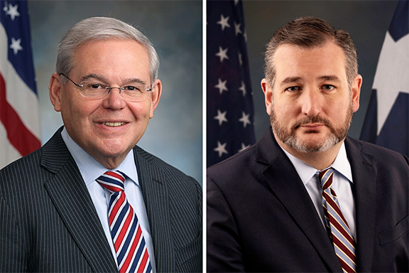 Senate Foreign Relations Committee Ranking Democrat Bob Menendez (D-NJ) and former presidential candidate Senator Ted Cruz (R-TX) introduced Armenian Genocide legislation reaffirming proper U.S. recognition and remembrance of this crime and rejecting U.S. complicity in its denial