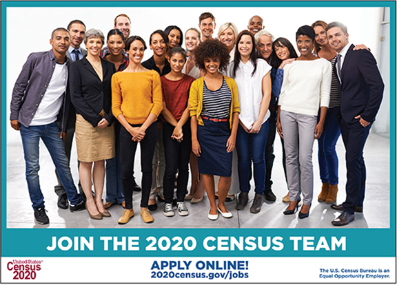 The 2020 Census is hiring