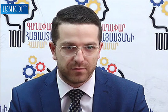 Gevorg Loretsyan is the deputy education minister believed to be arrested on bribery charges