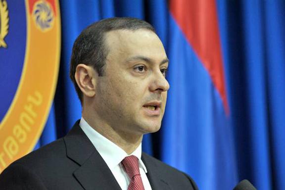 National Security Council Secretary Armen Grigoryan