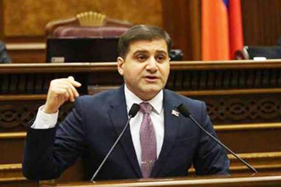 Member of Armenia's Parliament Arman Babajanyan