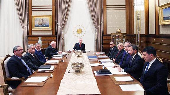Turkey's Advisory Board in Ankara, chaired by President Recep Tayyip Erdogan.