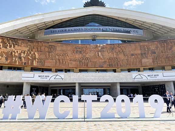 The World Congress of Information Technologies--WCIT--was held in Yerevan in October, 2019