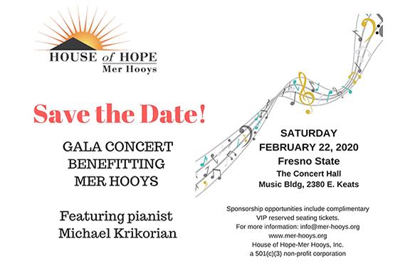 Mer-Hooys Benefit Concert Fresno State
