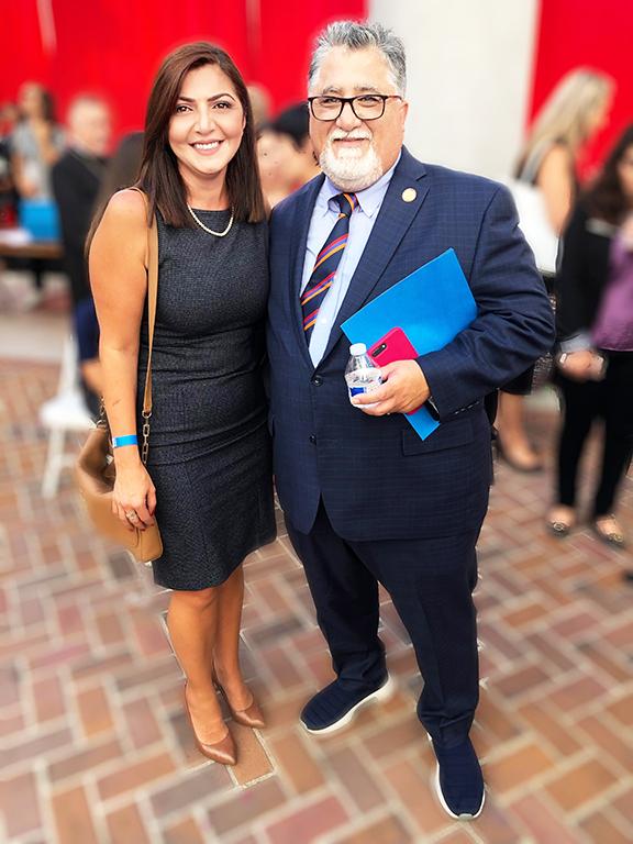 Elen Asatryan and Senator Anthony Portantino