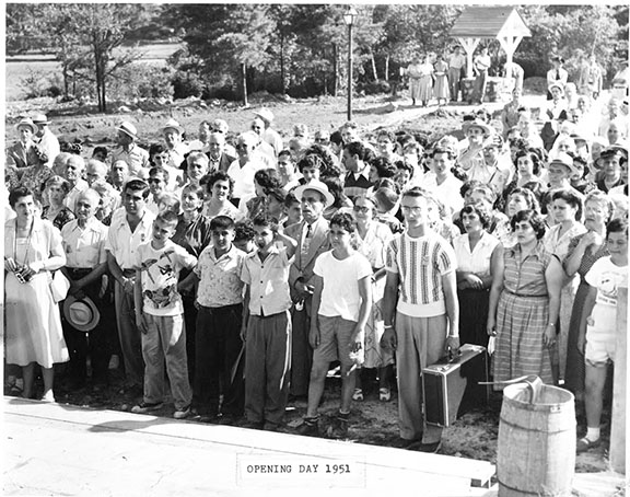 Camp Haiastan Opening Day, 1951