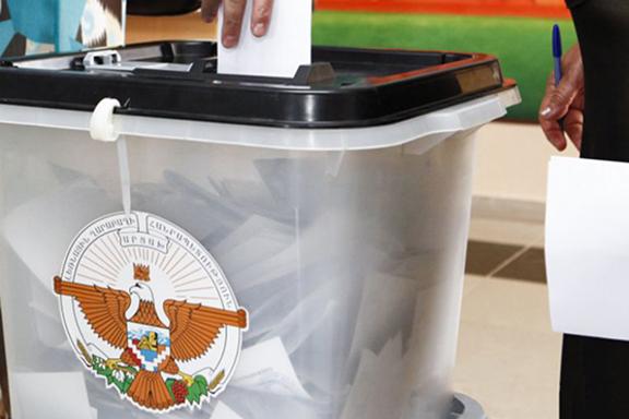 A ballot box in Artsakh
