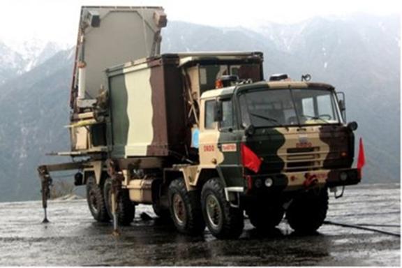 Indian-made SWATHI weapon locating radars