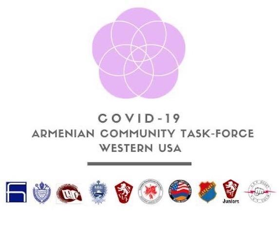 COVID-19 Armenian Community Task Force of Western U.S.S