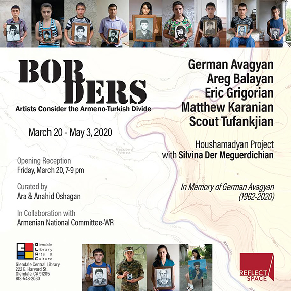 """""""Borders"""" will run from March 20 to May 3 at Glendale Public Library's gallery, ReflectSpace"""