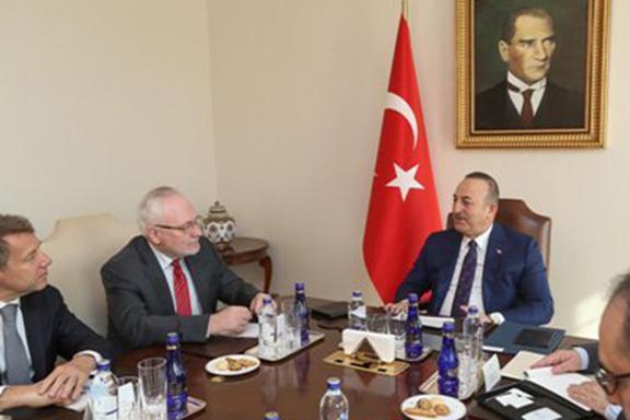 OSCE Minsk Group Co-Chairmen meet in Ankara with Turkey's Foreign Minister Mevlut Cavusolglu