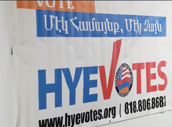 ANCA-WR's Hye Votes initiative once again mobilized voters for the March 3 Primary Elections