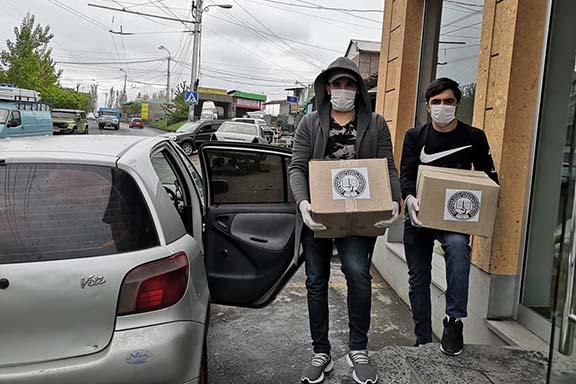 AEF volunteers deliver assistance in Armenia