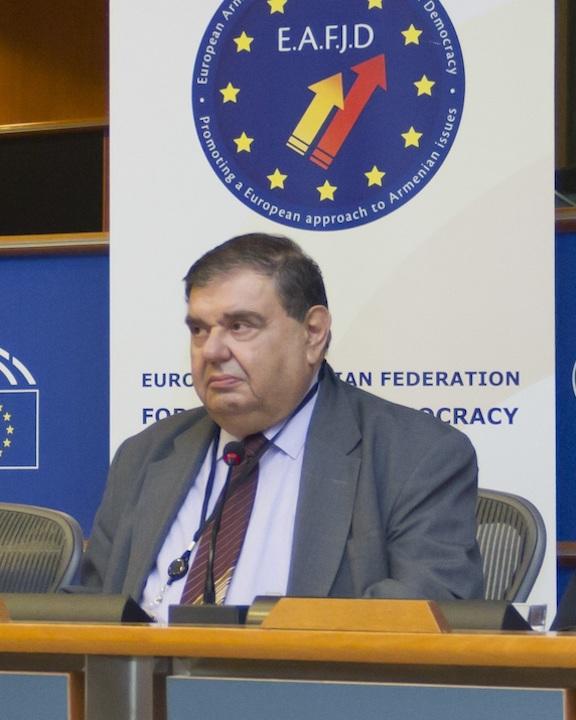 EAFJD President Kaspar Karampetian