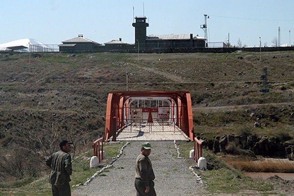 The Turkey-Armenia border