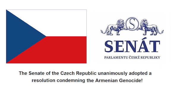 The Senate of the Czech Republic recognizes Armenian Genocide