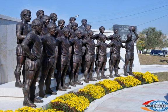 "The ""Ararat-73""  monument in Yerevan was vandalized"