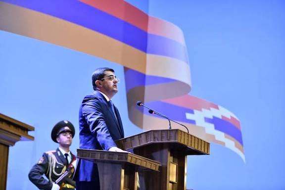 Arayik Harutyunyan was inaugurated as President of Artsakh
