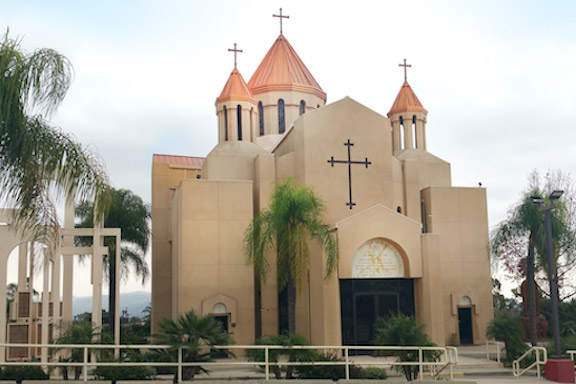 The Holy Cross Armenian Cathedral in Montebllo is among the Western Prelacy churches reopening on May 31