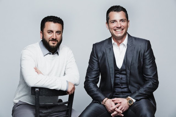 Service Titan co-founders Vahe Kuzoyan and Ara Mahdessian